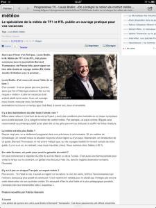 TV Mag Le Figaro 22/03/13