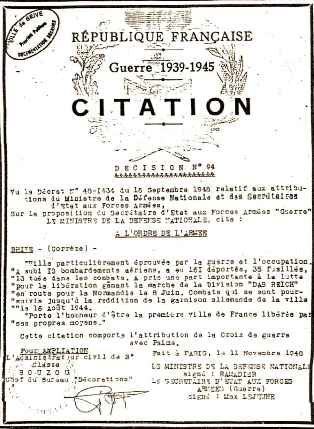 Libération brive