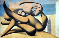 """Picasso """"Figures au bord de la mer"""""""
