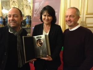 Béatrice Cointreau, Philippe Legendre, et Thomas Dhellemmes
