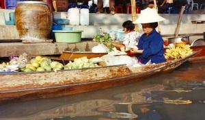 Le marché flottant © B.T.