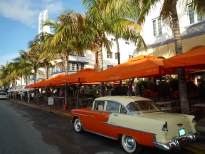 Miami : passage sur Ocean Drive © B. Thomasson