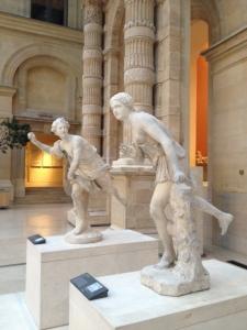 Atalante et Hippomène au Louvre © B. Thomasson
