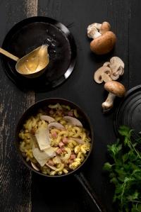 Coquillette jambon © Mathilde de l'Écotais
