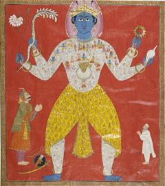 Visvarupa, Kashmir, milieu du XIXe siècle., © Courtesy of the National Museum, New Delhi